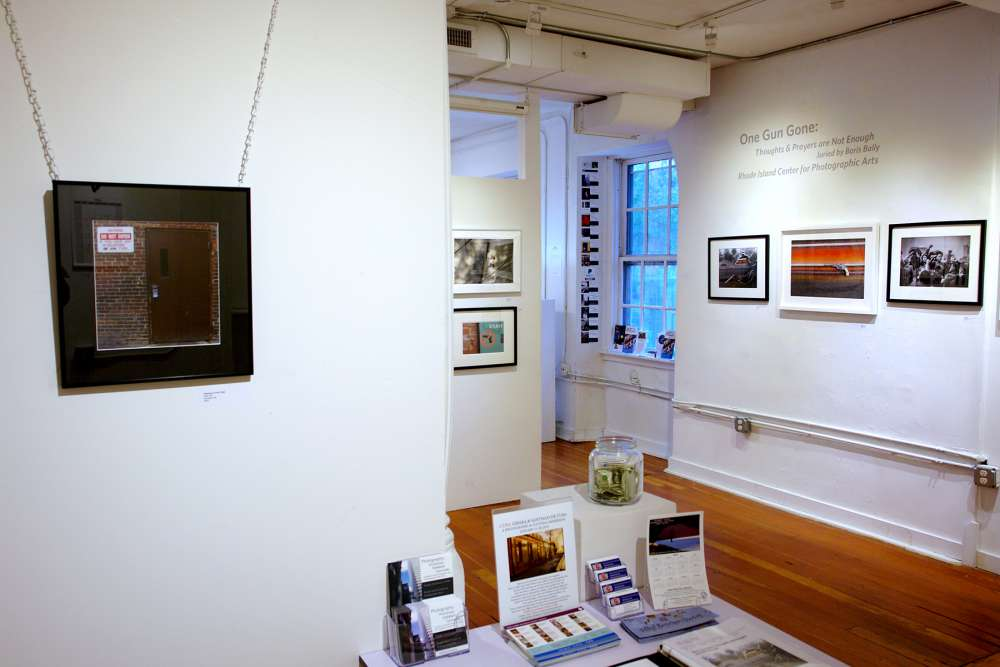 View from the exhibit