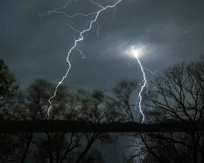 Lightning Over Little Sugarloaf