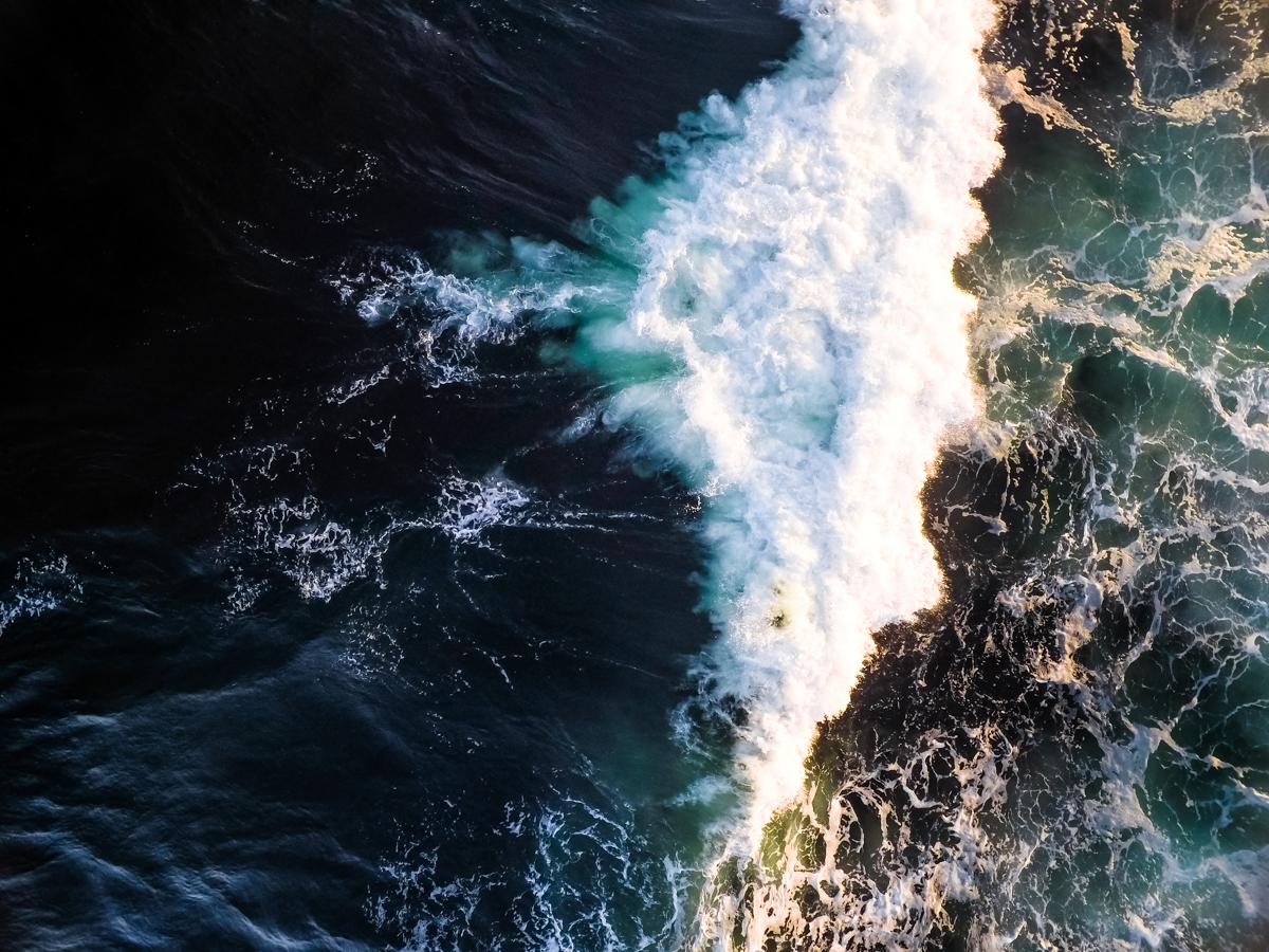 Beavertail Waves Aerial #1