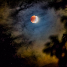 Blood Moon Eclipse from the series After Ryder by Nicholas Whitman