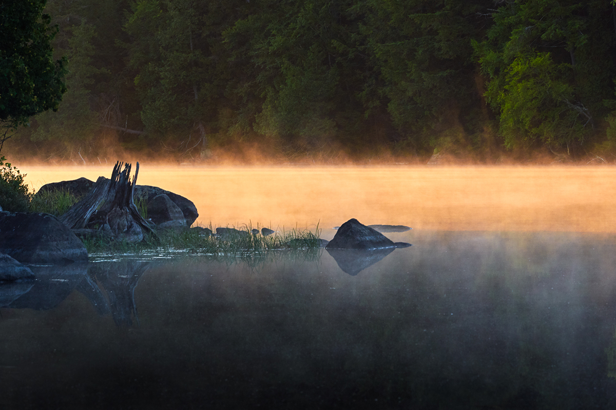 Sunrise, Saranac Lake   © Donald P. Johnson