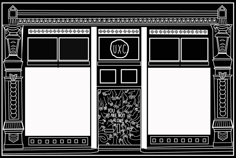 Digital woodcut building
